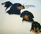 Gordon Setter T-shirt ~ Natural ~ Size 3XL ( 54 - 56 )