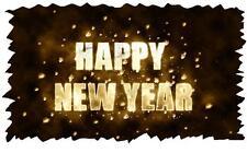 Happy New Year # 11 - 8 x 10 - T Shirt Iron On Transfer