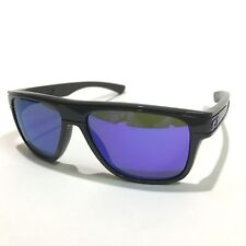 Oakley Sunglasses * Breadbox 9199-30 Dark Grey Violet Iridium COD PayPal
