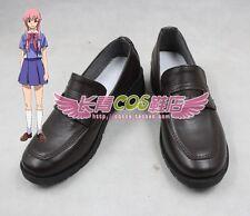 Mirai Nikki Gasai Yuno cosplay shoes Boots Custom Made