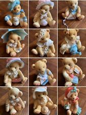 Twelve Months Of The Year Cherished Teddies in Boxes