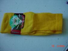 2 Pairs Rawlings Baseball Socks Light Gold size Small Shoe Size 2 1/2 to 6 1/2