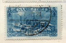 Saar 1927 Early Issue Fine Used 1F.50c. 150346