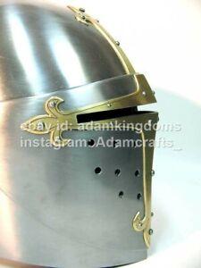 Medieval 2.5mm Steel Sugerloaf Helmet