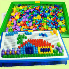 Mosaik-Steckspiel 592 Stecker Steckmosaik Spielzeug Geschenkset für Kinder DE