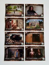 Topps Walking Dead Season 6 Locations Trading Card Chase Set