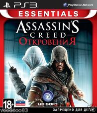 Assassin's Creed: Revelations (PS3, 2011) Russian,English version *NEW & SEALED*