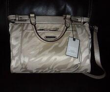 Dana Buchman purse. NWT. Lucy Shopper. Angora Zebra.