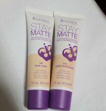 2 Rimmel Stay Matte Liquid Mousse Foundation #081 FAIR IVORY
