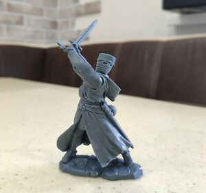 Collectible Plastic Toy Soldiers Publius Knight Crusader Lmtd Edition 1:32 54 mm