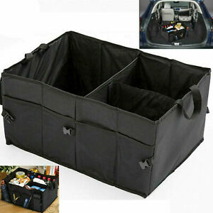 Car Boot Tidy Bag Storage Box Organiser Travel Holder Foldable Collapsible UK
