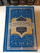 Classic American Short Stories - leatherbound - new sealed