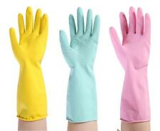 New Rubber Rubber Cleaning Gloves Dish Washing Kitchen Housework Multi Purpose