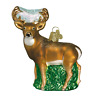 Old World Christmas WHITETAIL DEER (12162)N Glass Ornament w/Box