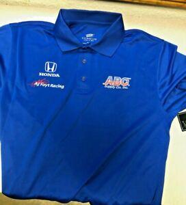 AJ Foyt Racing Garage Sale- AJ Foyt ABC Supply Team Wear Polo IndyCar- Medium