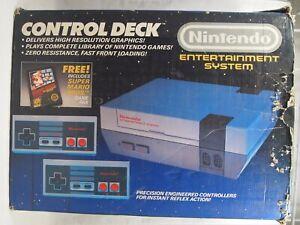 Empty Console Box for Nintendo Entertainment System NES Super Mario Bros