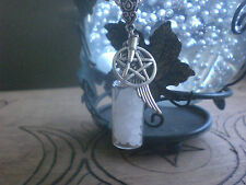 Supernatural Protection Spell Bottle Pentagram Wing Bullet Salt