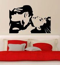 Par de hombre y mujer beso amor murales wallpaper muro joyas 57 x 85 cm