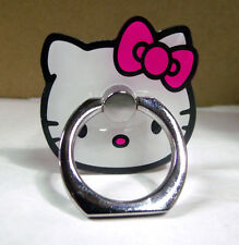 Kitty Cat Cell phone Stand ,security i- ring BLING