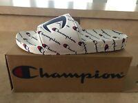 Champion IPO Repeat Sandals Slide White Men's 100080M CM100080M