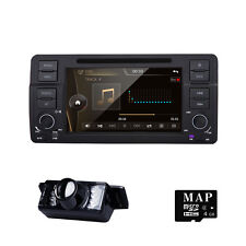 In Dash Car DVD Player GPS Navigation Radio For BMW 3 Series E46 USB MP3 BT +Cam
