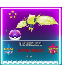 Pokemon Sword & Shield REGIELEKI! 6IV! BRAND NEW! CROWN TUNDRA DLC