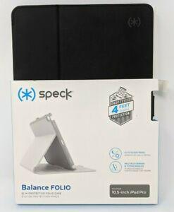 "Speck - Balance Folio Case for Apple iPad Pro 10.5"" - Black/Slate Gray *Read*"