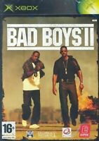 Xbox Bad Boys II Retro Video Game Original Inc Manual