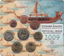 Griekenland BU set 2009 / 1 cent - 2 euro KMS