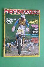 MOTOCROSS luglio 7 1983 PUCH 250 CROSS HONDA XL 600 R GRAN PREMIO D'ITALIA 500