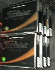 6 Dozen Titleist pro v1 golf balls new in box
