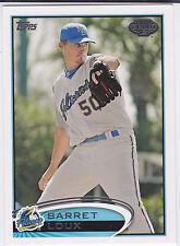 Barret Loux Texas Rangers 2012 Topps Pro Debut Minor League Card