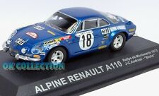 1:43 Rally ALPINE RENAULT A110 - Montecarlo (1973) - Andruet - Biche (11)
