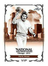 2013 National Convention LEAF EXCLUSIVE VIP PETE ROSE  Hit King !! PRESELL
