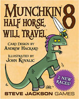 Munchkin 8: Half Horse Will Travel Card Game Expansion From Steve Jackson Games