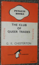 Penguin Book 581 The Club of Queer Trades by G.K.Chesterton 1946