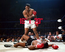 "Muhammad Ali~Heavyweight Champ~The Greatest~Liston~Poster~Color~16"" x 20"" Photo"