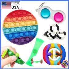 6pcs Sensory Fidget Toy Set Pop Bubble Stress Relief Anti-Anxiety Push Pop it Us