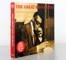 THE GREAT RAY CHARLES. INCLUDES TWO ORIGINAL ALBUMS [3CDS / 2008] 5060143490132