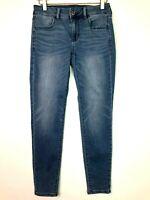 American eagle jeggings skinny denim jeans light wash size 4s short