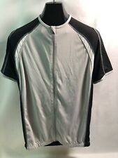 Giant Men's Cycling Jersey Sz: XL Color: Black/Gray with back pockets