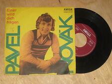 Pavel Novak - Einer wird dich fragen    Vinyl  Single Amiga