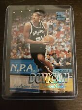 '97-'98 Fleer Tiffany Tim Duncan Rookie