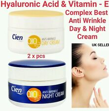 WITH HYALURONIC ACID & VITAMIN-E ANTI WRINKLE LIFTING CIEN Q10 DAY & NIGHT CREAM