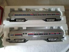 Williams o scale Amtrak aluminum passenger cars