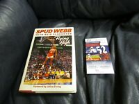 Spud Webb Autographed Flying High Book JSA Certified