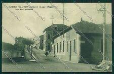 Varese Porto Valtravaglia Stazione cartolina EE6436