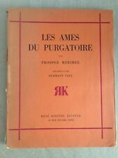 PROSPER MERIMEE/ LES AMES DU PURGATOIRE / HERMANN-PAUL/1929