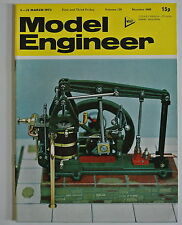 The Model Engineer Magazine. Vol. 139. No. 3460. 2-15 March, 1973.
