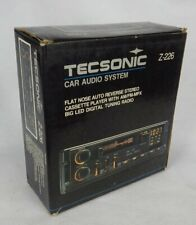 New listing Tecsonic Z-226 Car Stereo Reciever Cassette Tape Pull Out Original Box / Chasis